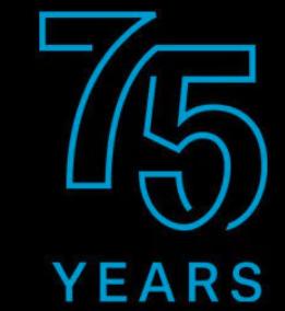 Logo 75 Jahre Sennheiser