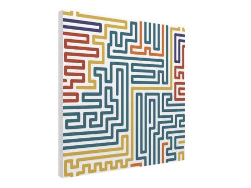 Flat Panel Geometric Pattern 3